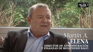 Martín A. Elena - Director de Administración y Finanzas de Biogénesis Bagó