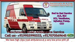 Minimal Price Ambulance Service from Noida to Delhi By Panchmukhi Ambulance