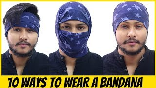 HOW TO WEAR BANDANA IN 10 DIFFERENT STYLES
