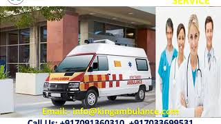 Get ICU Ambulance Service in Jamshedpur and Tatanagar by King