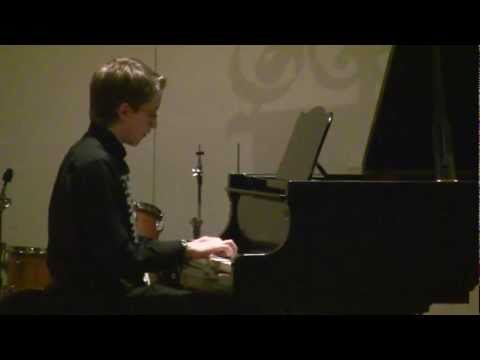 "Jacob Dungan performs ""The Piano Picker"""