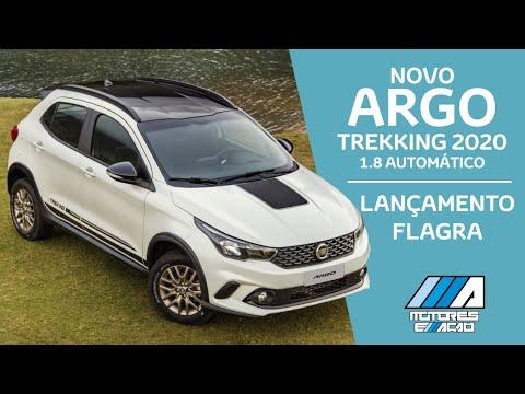 Novo Argo Trekking 2020 1.8 Automático   Flagra   Lançamento   motoreseacao