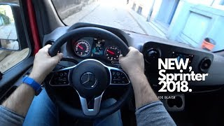 New 2018 Mercedes Sprinter 2.1 143 HP 4K   POV Test Drive #071 Joe Black