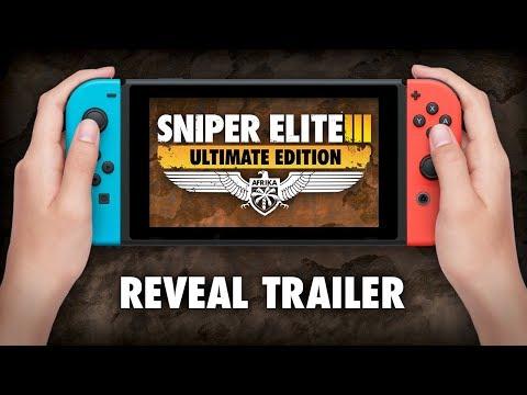 《狙擊之神 3 終極版》登陸Switch