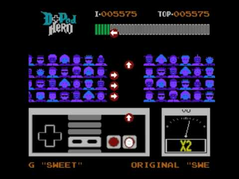 D-Pad Hero Brings Guitar Hero (Unofficially) To NES