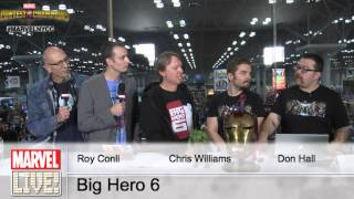The Directors and Producer of Disney's Big Hero 6 Give Advice to Future Animators at NYCC 2014