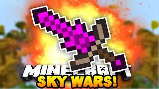 """Minecraft SOLO SKY WARS """"INSANE SWORD!"""" #4 w/ PrestonPlayz"""