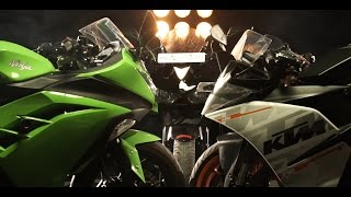 Yamaha R3 vs Kawasaki Ninja 300 vs KTM RC390 | Coming Soon | PowerDrift