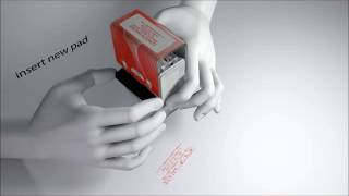 Colop self-inking stamp ink pad change (New Colop Printer)