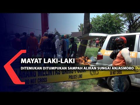 mayat laki-laki ditemukan ditumpukan sampah