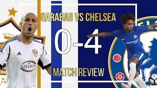 CHELSEA 4-0 QARABAG Match Review || Willian Runs Riot & Hazard Plays False 9! || WE QUALIFY
