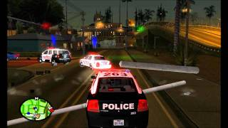 Allen Police Department Pursuit - GTA SA (SAPD:FR)
