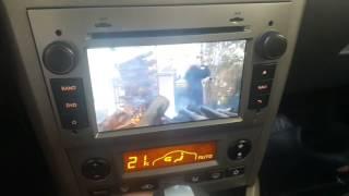 Câmera frontal automotiva com acionamento automático ou manual