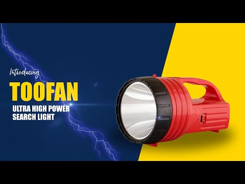 Toofan Rechargeable LED Torch