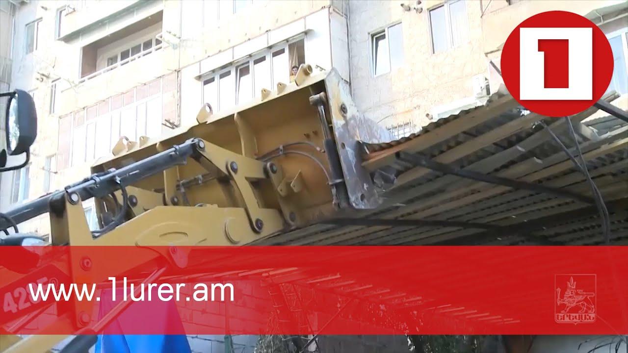 Երևանում կառուցված ինքնակամ շինությունները ենթակա են քանդման՝ անկախ շինաշխատանքների որ փուլում են