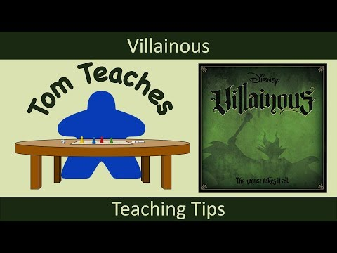 Tom Teaches Teaching Tips (Villainous)