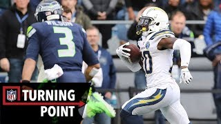 How a DB Diagnosed a Play Like a Veteran to Lead the Chargers to a Win in Week 9 | NFL Turning Point