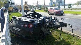 Жестокая авария  Авто драки месяца