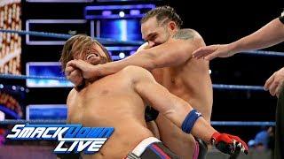 AJ Styles vs. Tye Dillinger - United States Championship Match: SmackDown LIVE, Sept. 12, 2017 | Kholo.pk