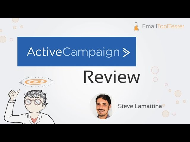 Email Marketing Active Campaign  Features Video