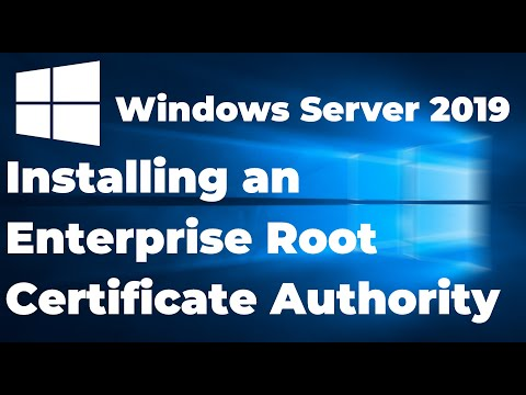 02. Installing an Enterprise Root Certificate Authority | Windows ...
