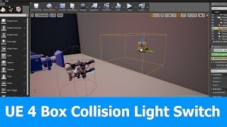 Ue4 light switch interaction and animations most popular videos ue4 box collision blueprint for light switch malvernweather Choice Image
