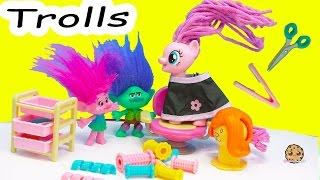 My Little Pony Twisty Twirly Wax Hair Style with Trolls Poppy & Branch - Toy Video