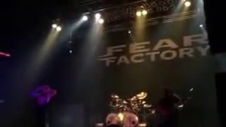 Fear Factory - Piss Christ - live at The Agora Theater in Cleveland, Ohio 4-14-2016