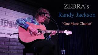 "ZEBRA's Randy Jackson ""One More Chance"" 11/16/2018 @ the Listening Room, Phoenix, AZ"