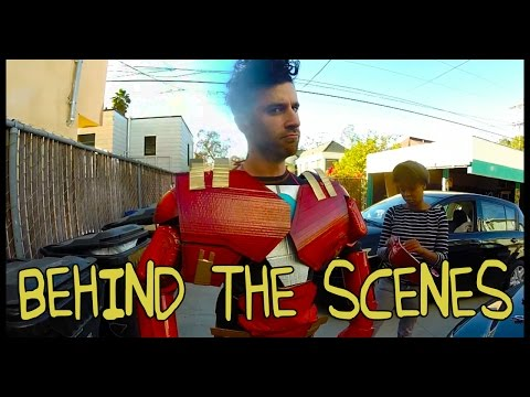 Avengers: Age of Ultron Trailer Homemade with TJ Smith - Behind the Scenes
