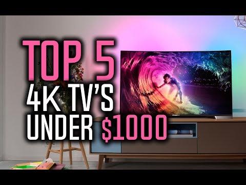 Best 4K TVs Under $1000 in 2018!