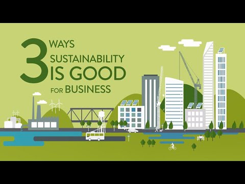 3 Ways Sustainability Is Good For Business