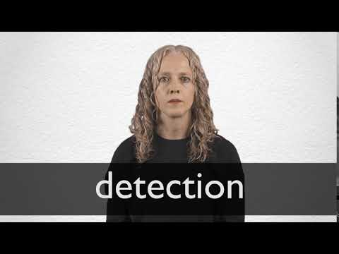 detection synonyme collins englischer