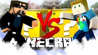Minecraft | SKYWARS LUCKY BLOCK CHALLENGE | MASS GHAST MURDER!!