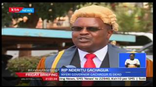 Nyeri residents awoke to the sad news of Governor Nderitu Gachagua succumbs to pancreatic cancer