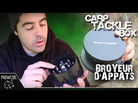 CARP TACKLE BOX : Broyeur d'appâts