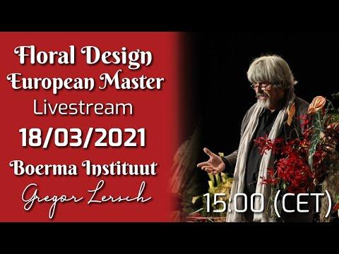 Floral Design Livestream #23: by Gregor Lersch