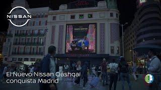 El Nuevo Nissan Qashqai conquista Madrid Trailer