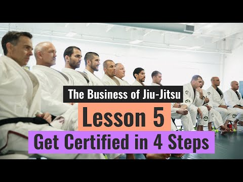 Gracie Instructor Certification Program (Lesson 5 of 10 - The ...