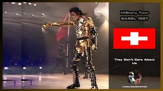 Michael Jackson Live In Basel 1997: They Don't Care About Us - HIStory Tour