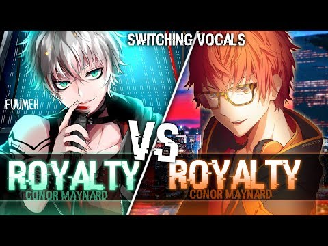 ◤Nightcore◢ ↬ Royalty [Switching Vocals]