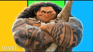 Imagine Dragons - Believer (cartoon version / maui)