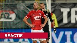 Reactie Vlaar | AZ - sc Heerenveen