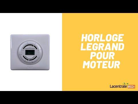 Horloge pour moteur Legrand
