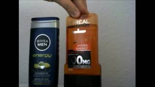 Ich Teste Nivea Men Energy Pflegedusche und L'Oréal Paris Men Expert Duschgel Hydra Energetic