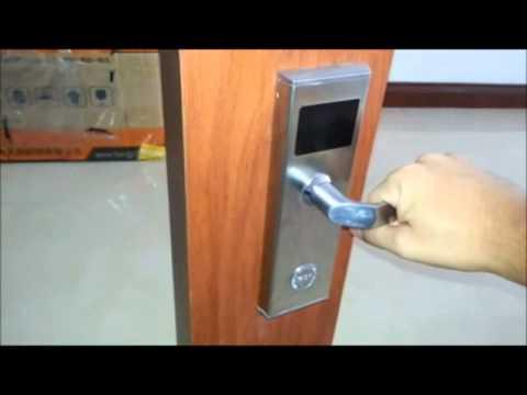 Cerraduras electronicas, sistema para hotel con programador de tarjeta