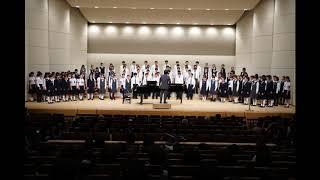 うたをうたうとき月見里みんなのコンサート20181008/山梨県高校合同合唱団