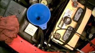 2001 Dodge Dakota 4.7L - Filling the Engine Coolant System