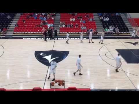 Alabama Crimson Tide Men's Basketball vs Carleton 1st Half Action In Canada