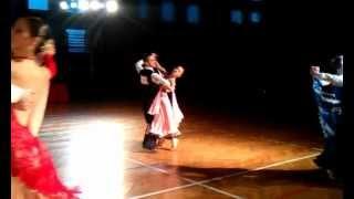 preview picture of video 'Tango, pow.15, klasa E, Turniej Tańca, Sułkowice 03.02.2013'